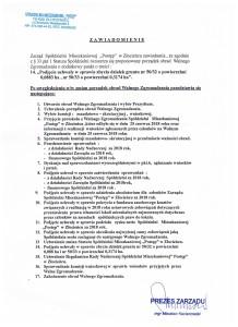porządek obrad Walnego Zgromadzenia (po zmianach)